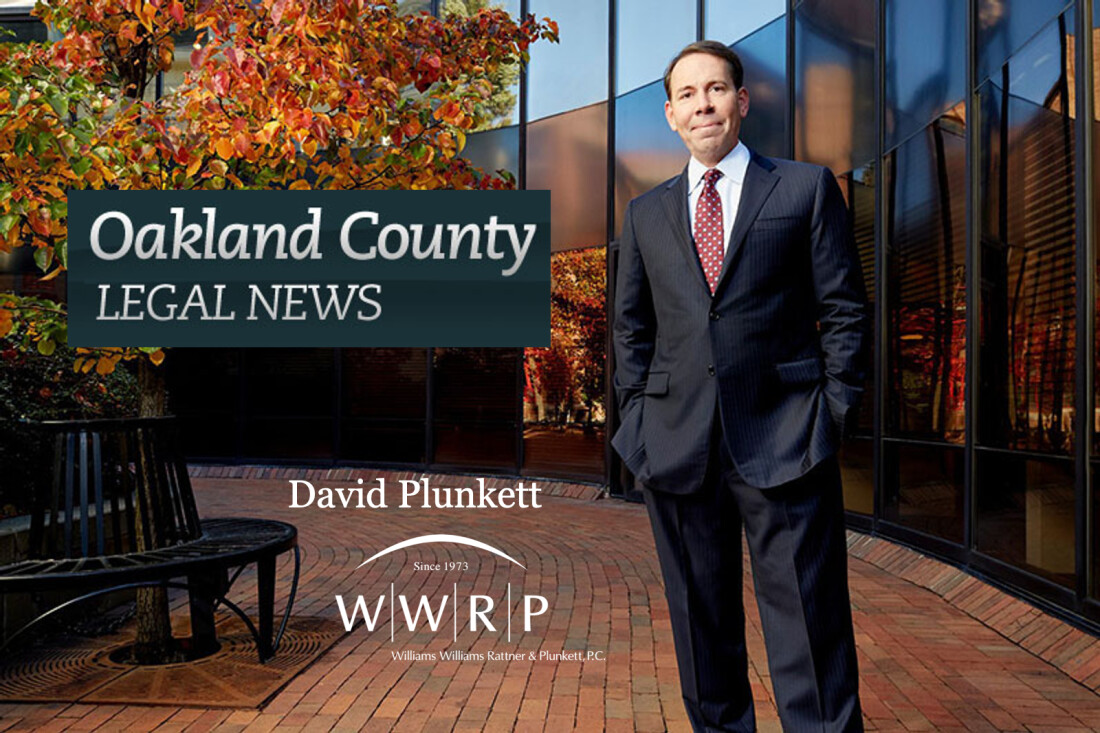 Oakland County Bar Foundation President David Plunkett